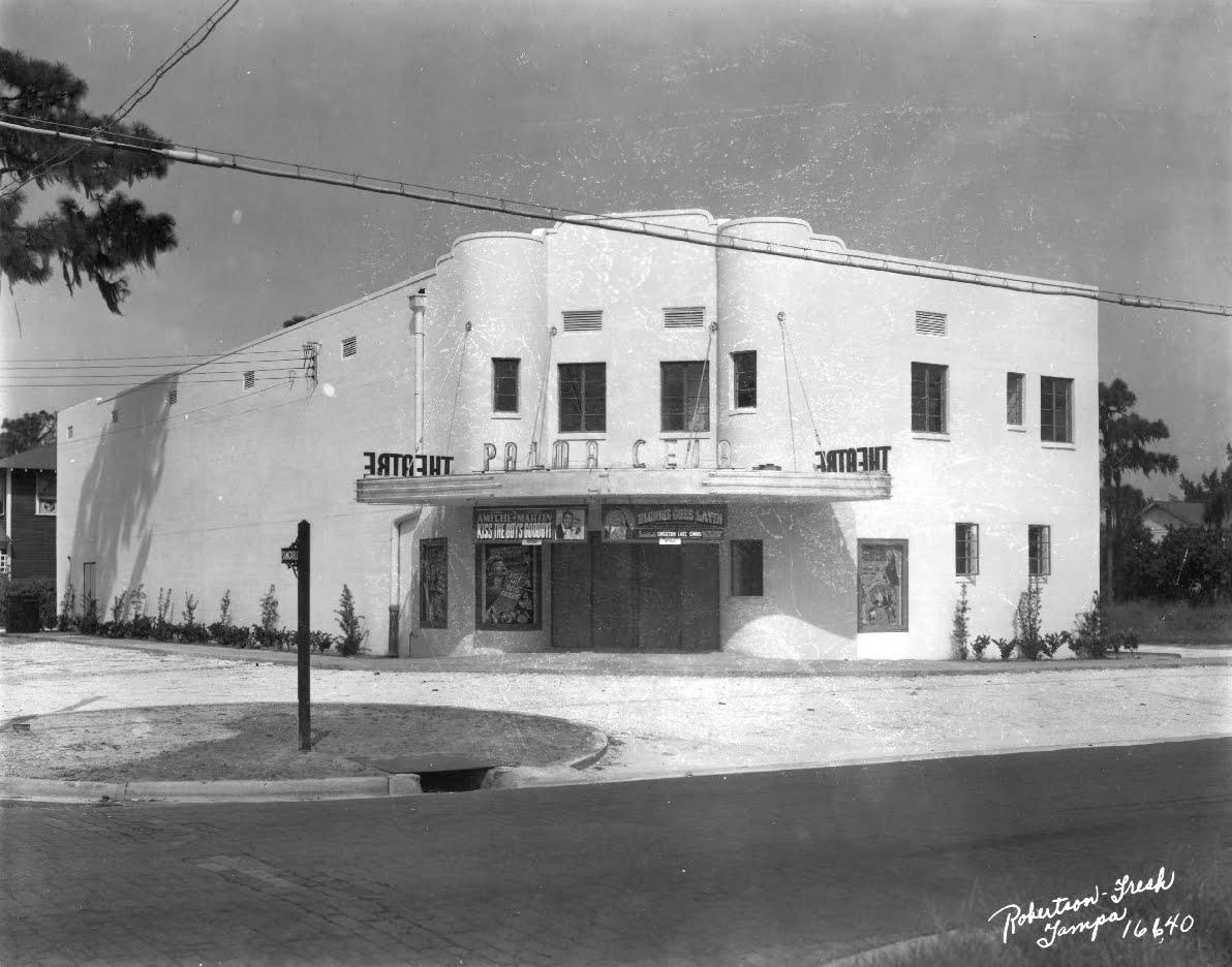 historic theatres in tampa palma ceia theatre