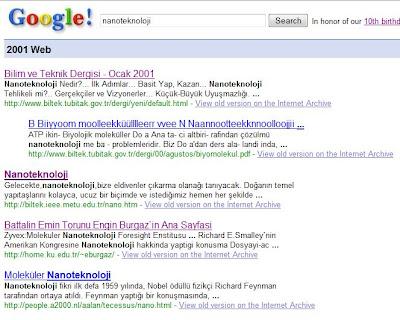2001'de nanoteknoloji