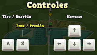 Controles do bola social soccer