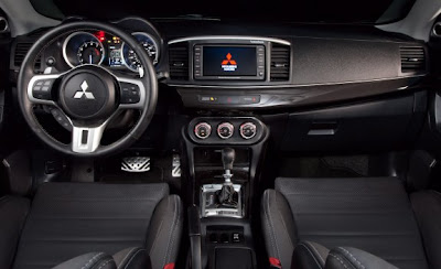 2010 Mitsubishi Lancer Evolution MR Touring Interior View