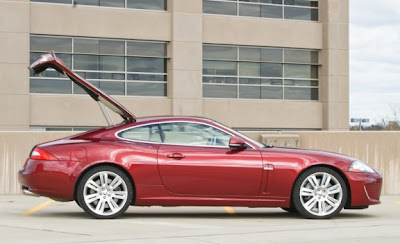 2010 Jaguar XKR Side View