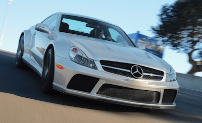 2010 Mercedes-Benz SL65 AMG Black Series Front View