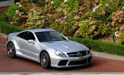 2010 Mercedes-Benz SL65 AMG Black Series Front Angle View