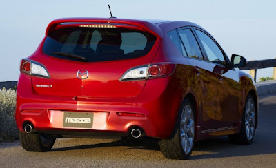 2010 Mazdaspeed 3 Rear View