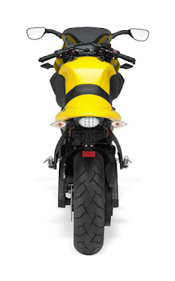 2010 Buell Firebolt XB12R Rear View