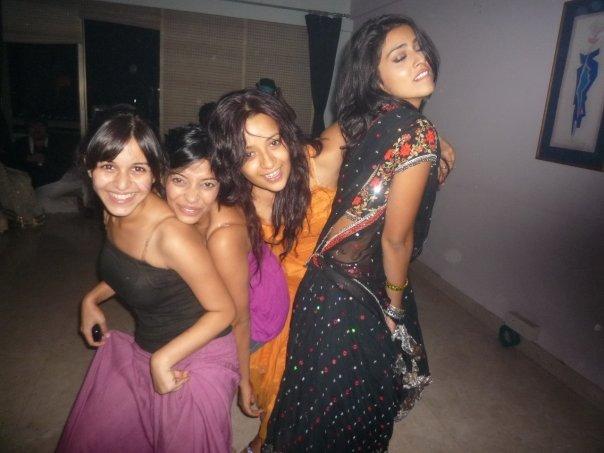Actress Reema sen & Shreya in Private party