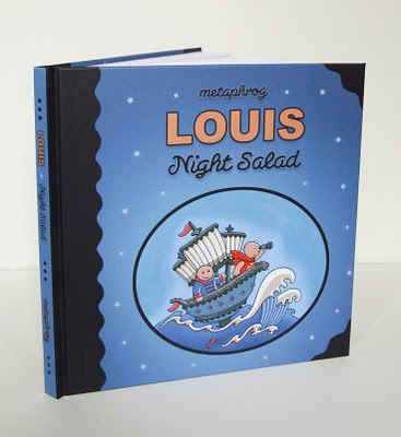 Louis - Night Salad the actual book!