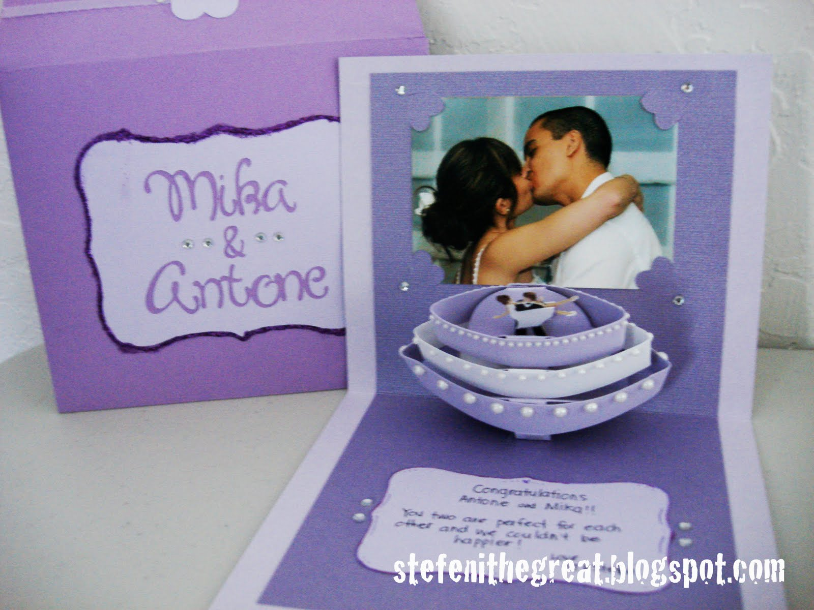 special wedding cards