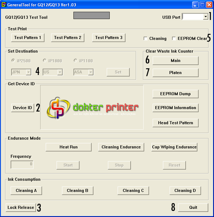 download software general tool resetter resetter general