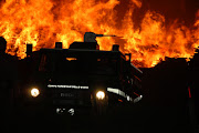 Incendio Biomasse Crotone - 24 settembre 2006