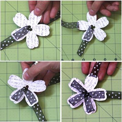 Скрапбукинг цветок из бумаги своими руками