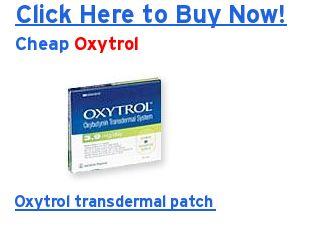 Oxytrol Patch Otc Reviews