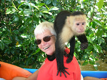 Sue & the monkey