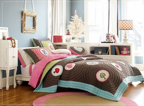Blue Teenage Girl Bedroom Ideas for Small Rooms