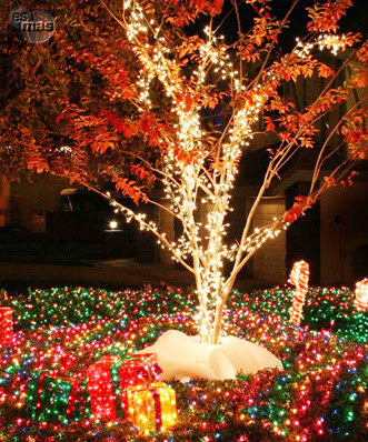 Navidad decoraci n navide a de exteriores for Decoracion exterior navidena