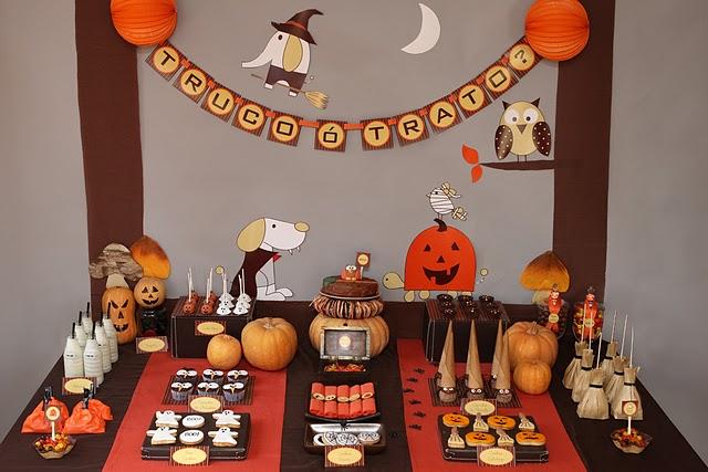 Decora tu casa fotos dise o y decoraci n de dormitorios cocinas comedores ba os jardines - Fiesta halloween en casa ...