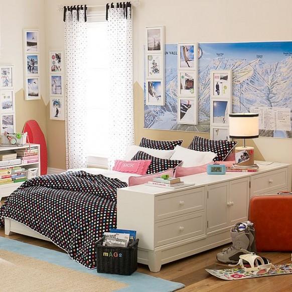 Decora tu casa fotos dise o y decoraci n de dormitorios for Cuarto para jovenes