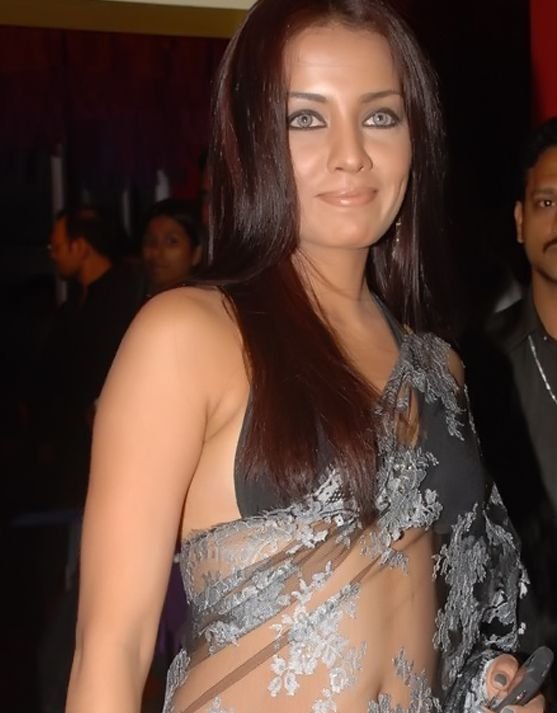 Celina on nude saree ~ Indian glamours - Actress,Bikini,Cleavage ...