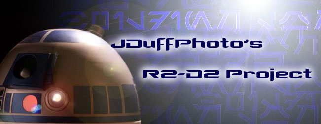 JDuffphoto's R2-D2 build diary
