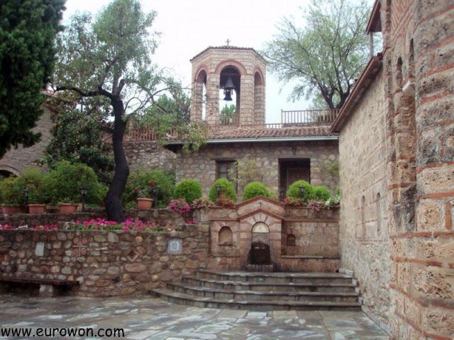 Patio interior del Monasterio de la Transformación de Nuestro Señor