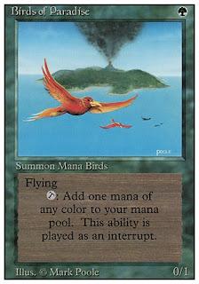 Birds of paradise de Revised