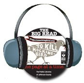 Big Read logo with headphones