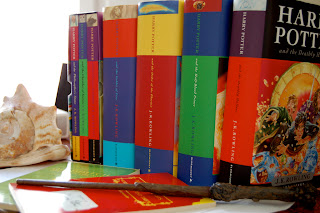 Harry Potter Books photo by Alberto Alvarez-Perea