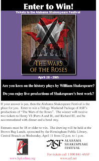 Alabama Shakespeare poster