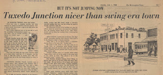 Tuxedo Junction newspaper article