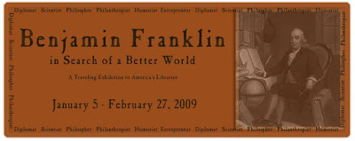 Benjamin Franklin exhibit logo