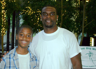 Cotchery with participant