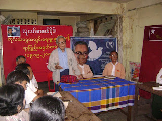 >NLD-Youth marked U Thant 100 Year Birthday