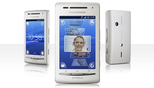 Sony Ericsson XPERIA™ X8 pilihan baru android harga dibawah 2 juta