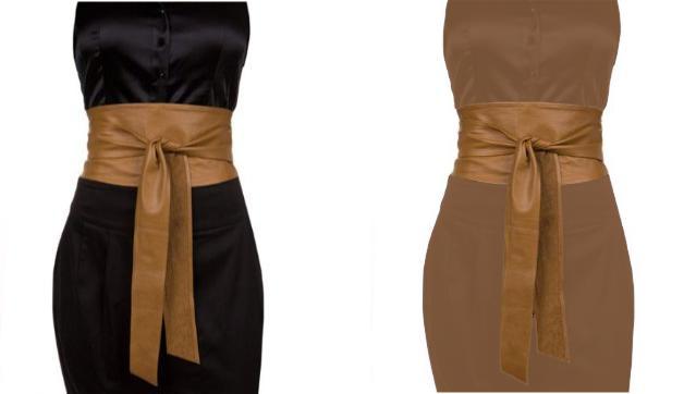 Como hacer un cinturon para vestido fiesta