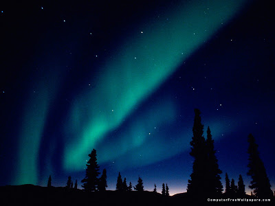 Aurora Borealis, Northern Lights, Alaska,