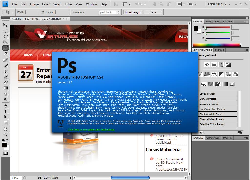 Descargar Photoshop Cs3 Para Windows 7 Descargar Software