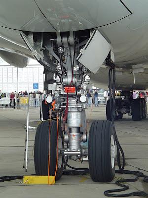 Tren delantero del Airbus A380