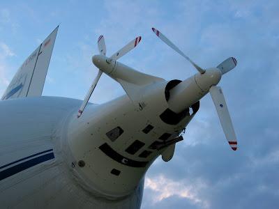 Hélices propulsoras del Zeppelin NT