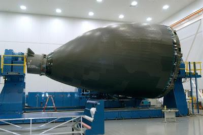 Morro del Boeing 787 hecho íntegramente en material compuesto
