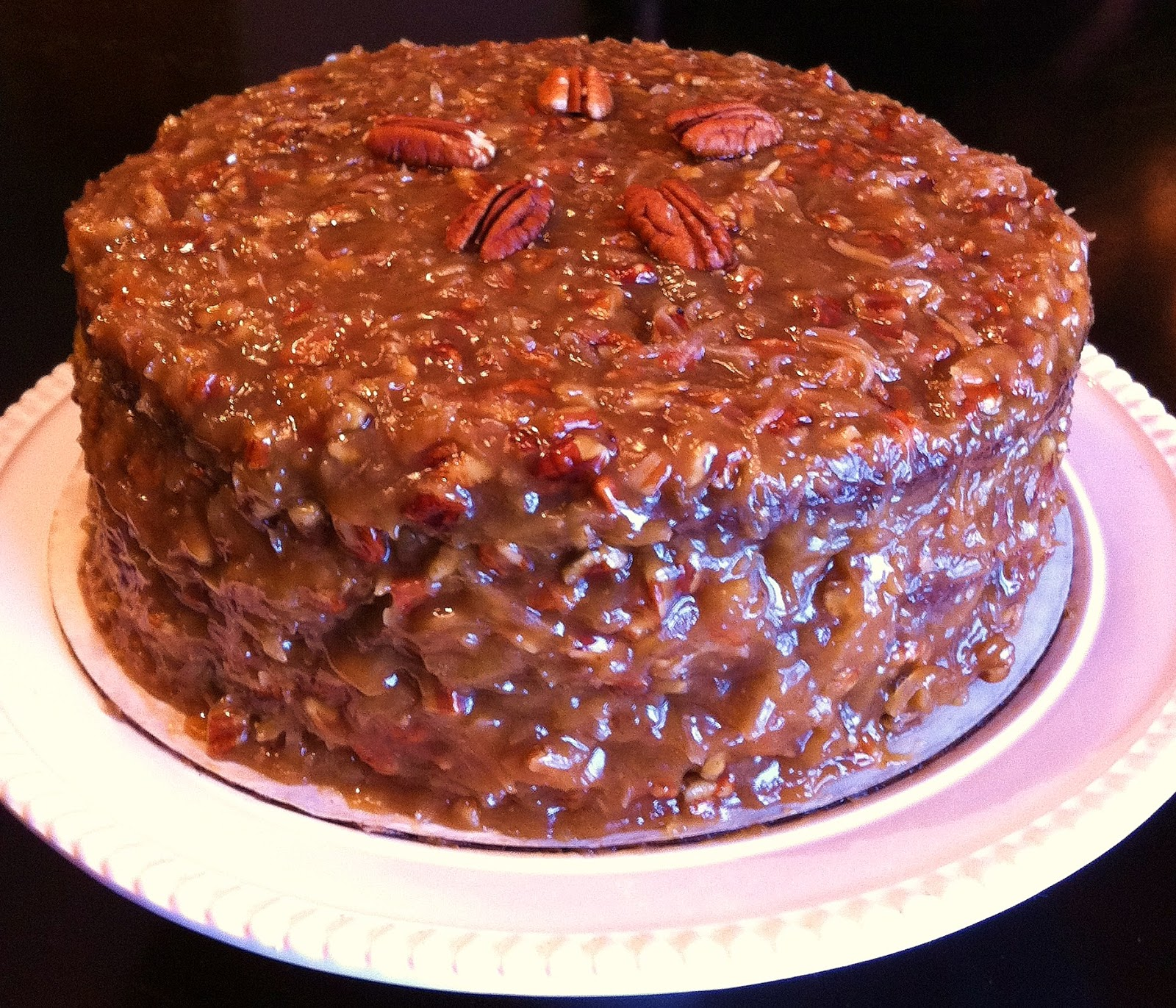Cooking The Amazing: GERMAN CHOCOLATE CAKE