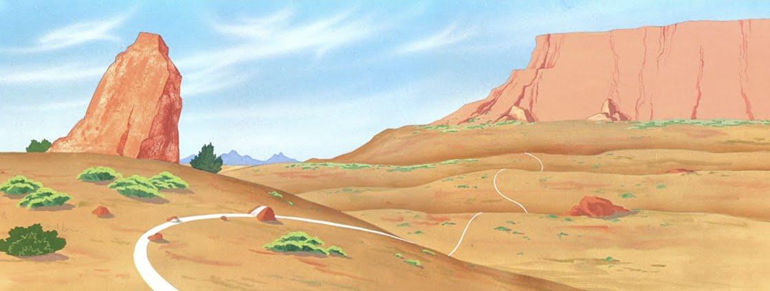 Looney tunes desert background - photo#16