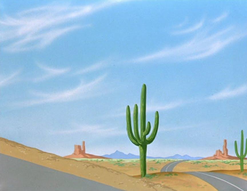 Looney tunes desert background - photo#25