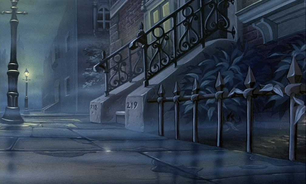 Animation Backgrounds The Great Mouse Detective Continued
