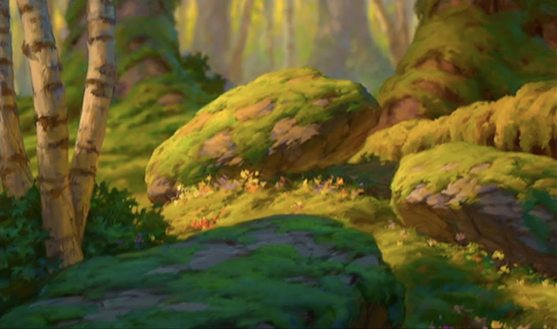 animated forest background