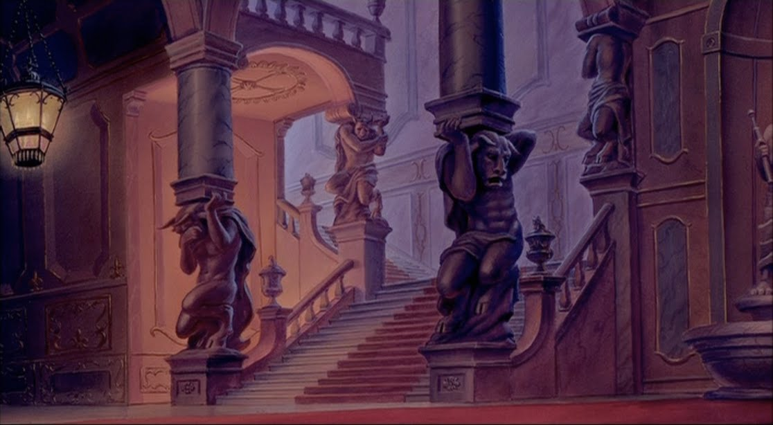 Bilinick: BEAUTY AND THE BEAST Castle Interiors