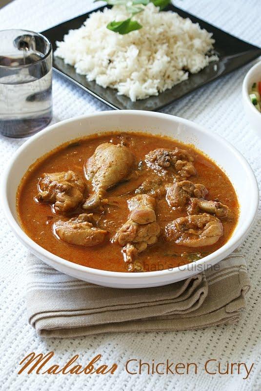 Shabs CuisineMalabar Chicken Curry