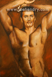 Simon Cowell Naked Art