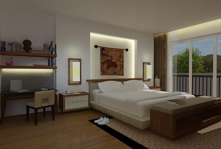 desain interior dan eksterior design kamar tidur