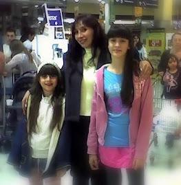 Con mis hijas!!!!!