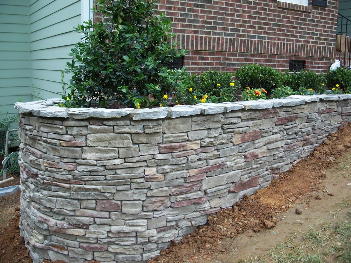 Stone Walls Landscaping : Genc stone inc stoneworks